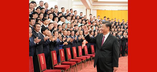 习近平亲切会见中国共产党成立100周年庆祝活动 筹办工作各方面代表